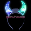 Multi LED Transparent Devil Horns