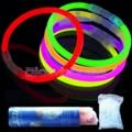 100 Pack of 8 Inch Glow Bracelets