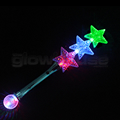Flashing Triple Star Wand
